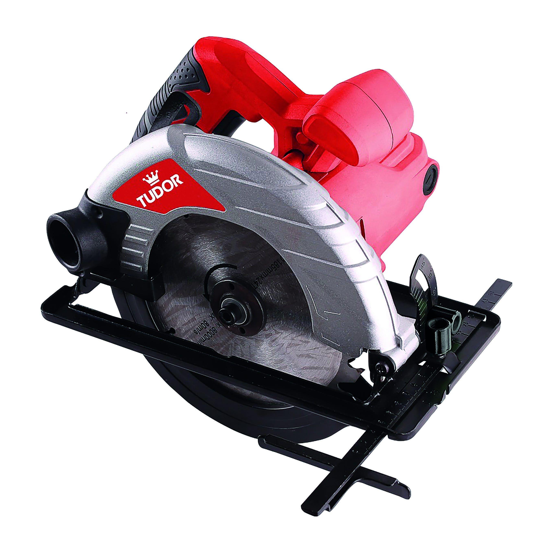 TUDOR Sega Circolare 1200 W M01124 Lama 185 Mm 5000 Giri/min Peso 3,5 Kg