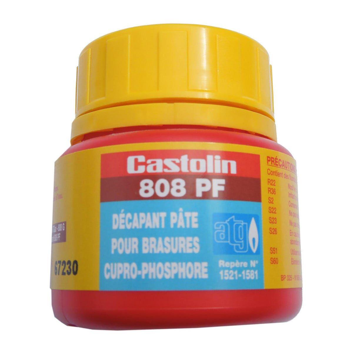 Pasta Disossidante 0,05 Kg Castolin Obbligatoria Per Impianti Gas Combustibile
