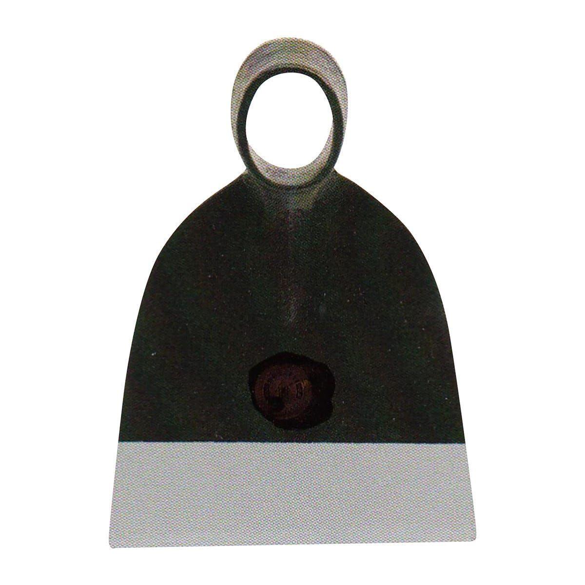 zappa quadra 800 g foro ovale scampanata 16x15 cm occhio ovale