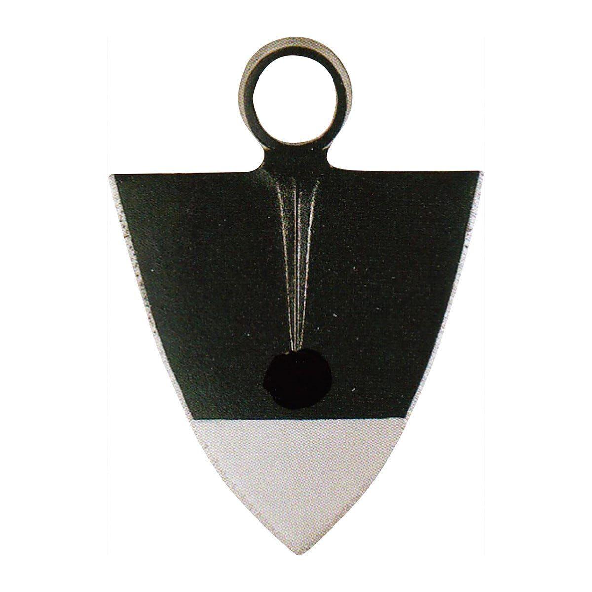 zappa triangolare 300 g foro tondo occhio tondo 30 mm spalla 12 cm piemonte