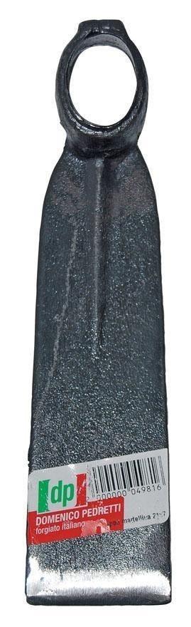 Zappa Quadra Martellina 21x7 Cm Occhio Ovale Senza Manico Lunga 1000 G Per Grano