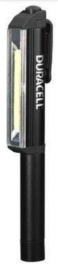 proxe torcia led penna duracell magnetica 3w 190 lumen raggio 18 m batterie 3xaaa incluse