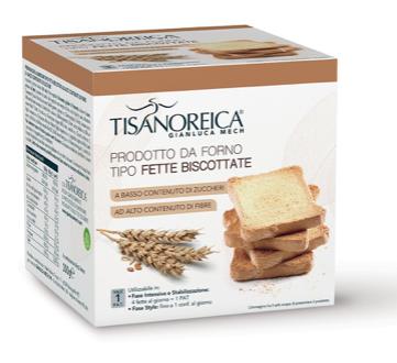 Tisanoreica PRODOTTO DA FORNO TIPO FETTE BISCOTTATE 2 conf. da 50g.
