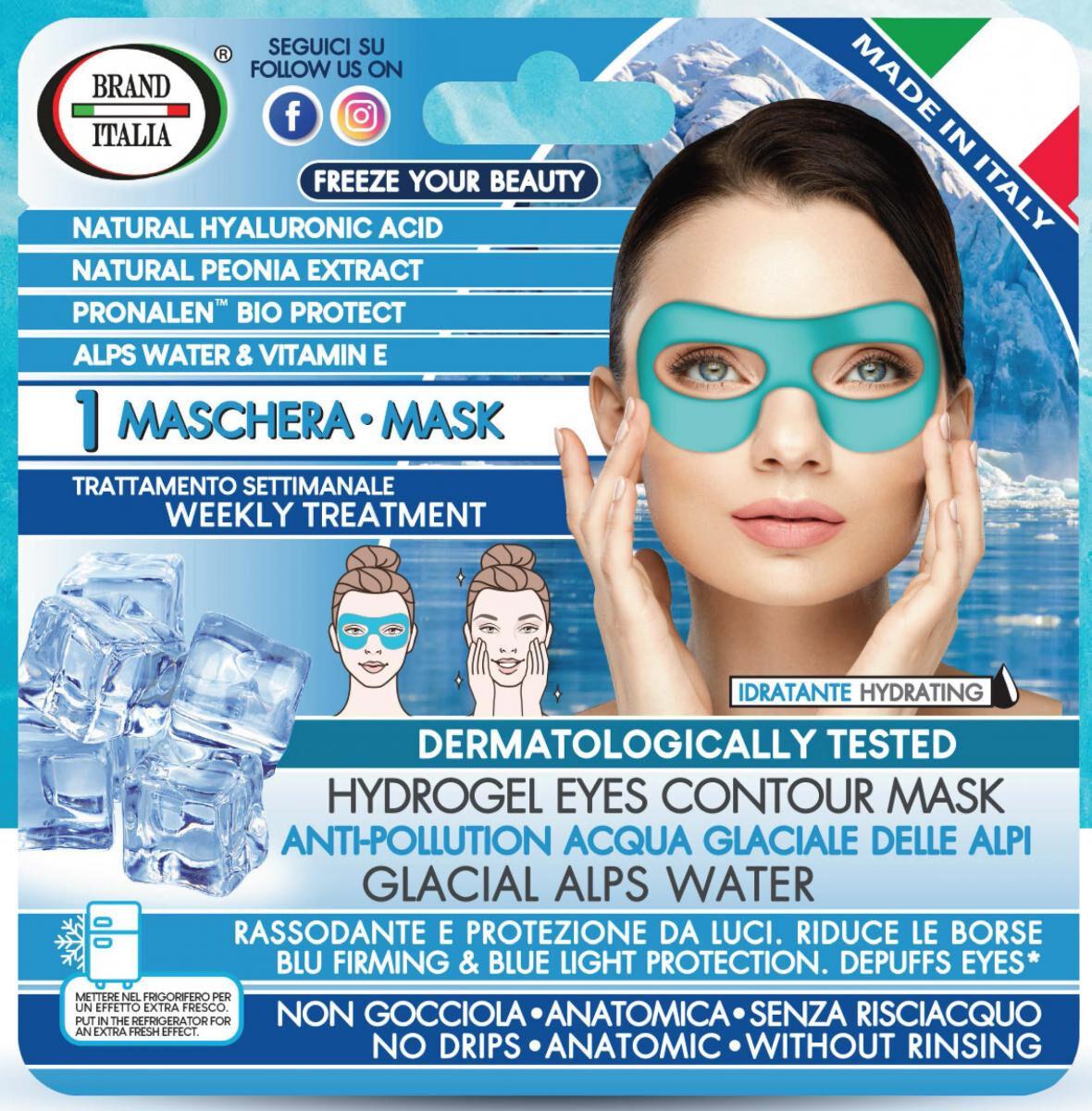 brand italia mascherina monouso rassodante