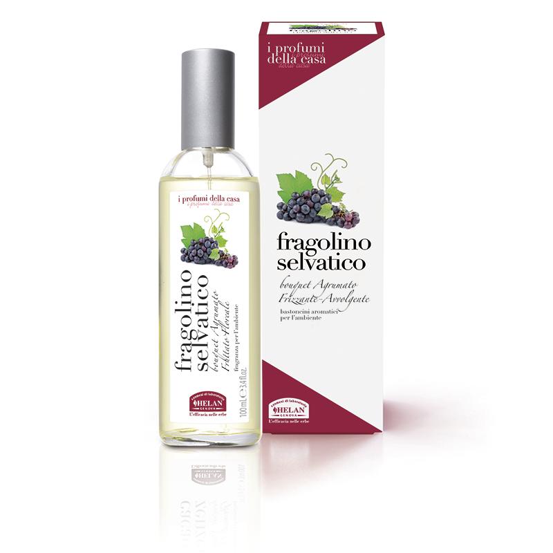 helan i profumi della casa - fragranza per l'ambiente spray fragolino selvatico