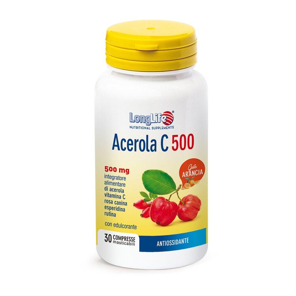 Phoenix LongLife Phoenix Acerola C 500 - Arancia 500mg 30 compresse
