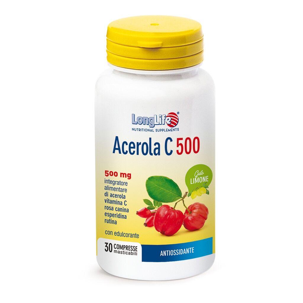 Phoenix LongLife Phoenix Acerola C 500 - Limone 500mg 30 compresse