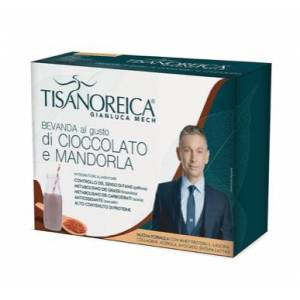 Tisanoreica BEVANDA GUSTO CIOCCOLATO E MANDORLA 4 PAT da 28,5g.