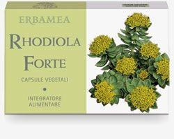erbamea rhodiola forte 24 capsule vegetali con estratti secchi di piante singole