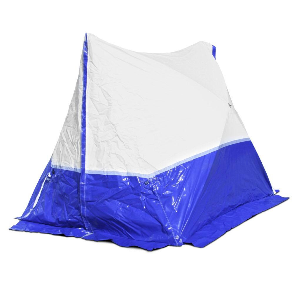 trotec tenda da lavoro 300 te  300*200*200 a tetto spiovente - blu