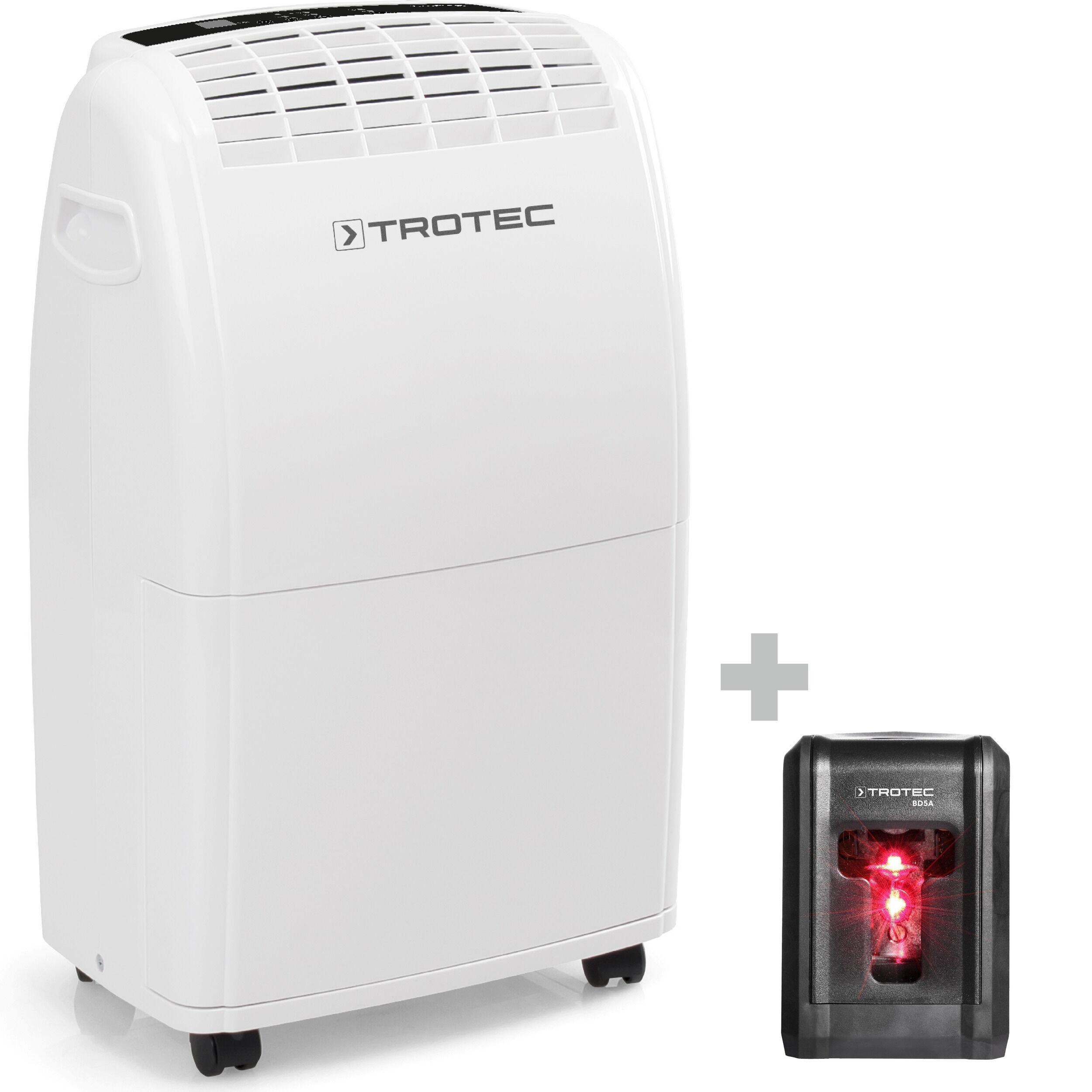 trotec deumidificatore ttk 75 e + livella laser bd5a