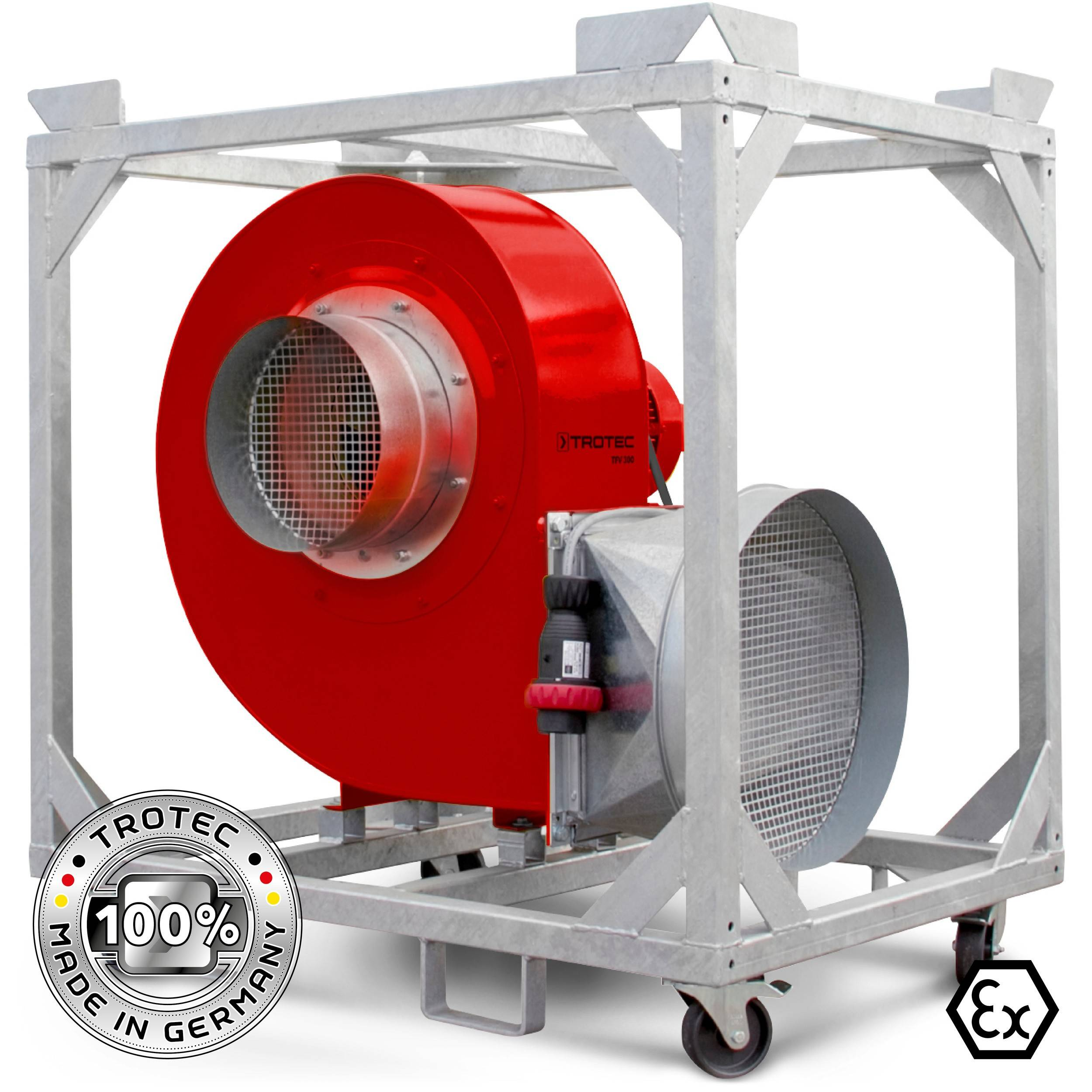 Trotec Ventilatore centrifugo TFV 300 Ex