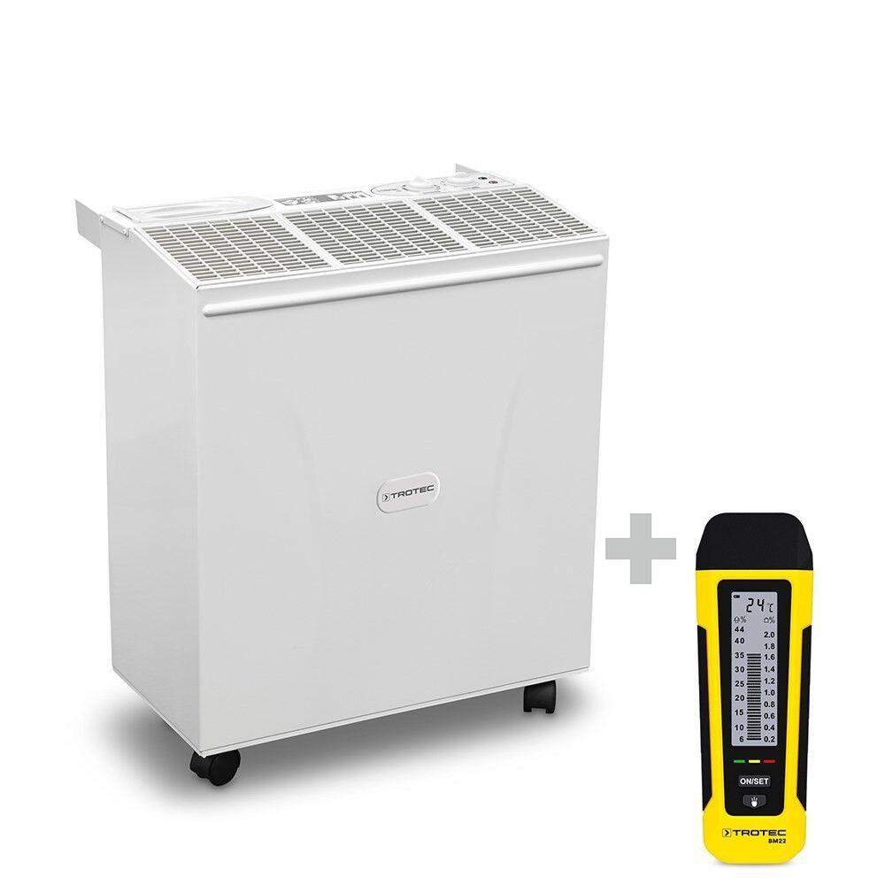 trotec umidificatore b 400 + misuratore di umidità bm22