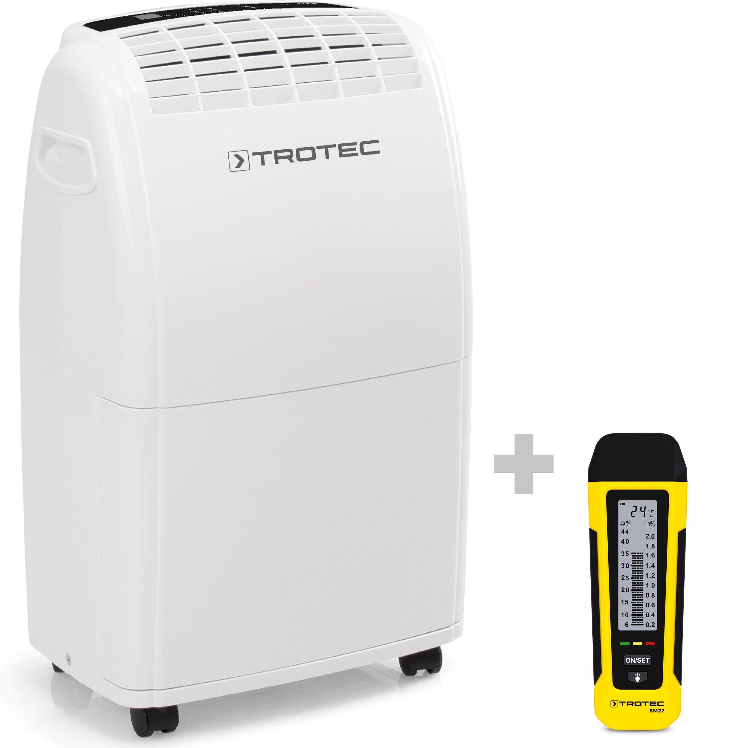 trotec deumidificatore ttk 75 e + indicatore di umidità bm22