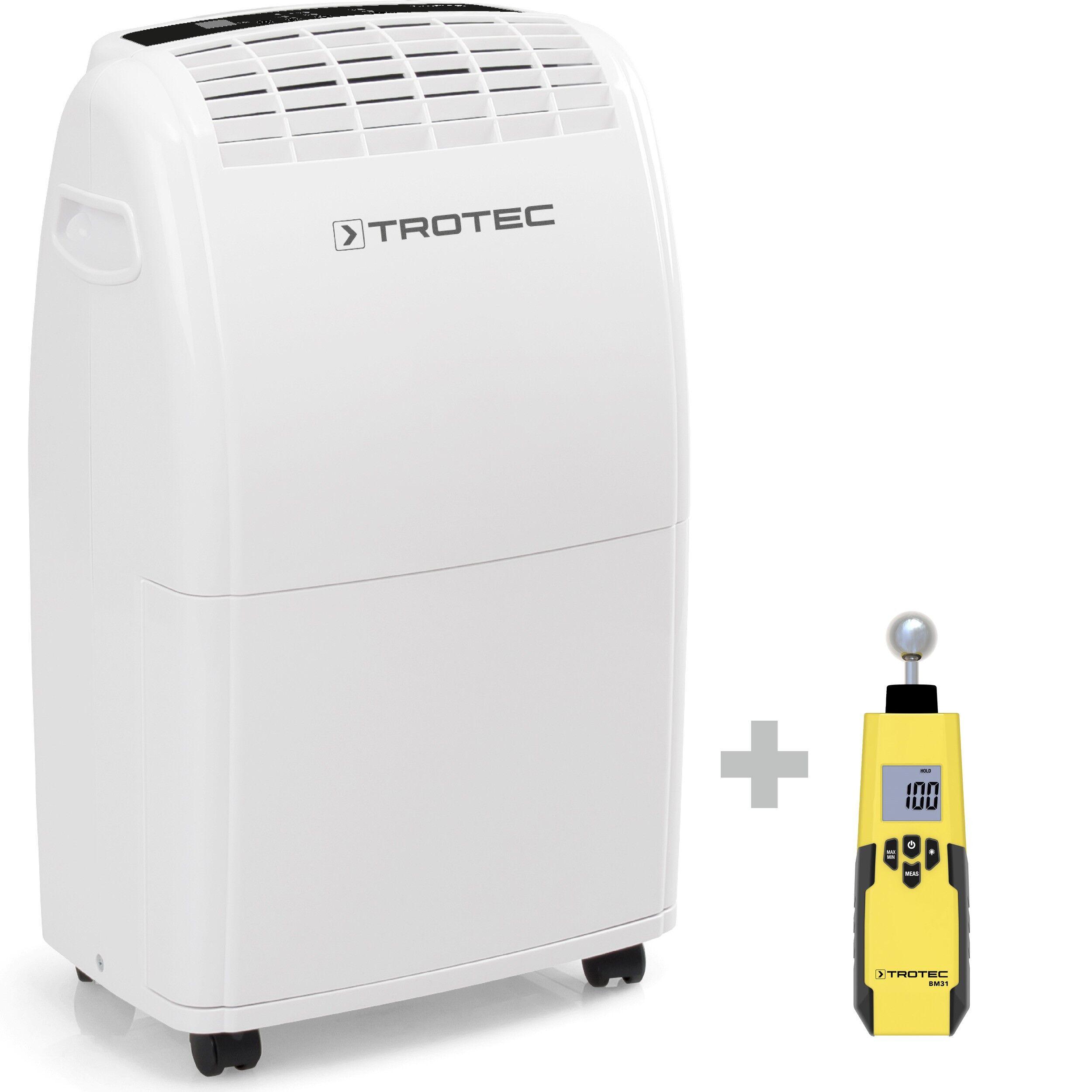 trotec deumidificatore ttk 75 e + indicatore di umidità bm31