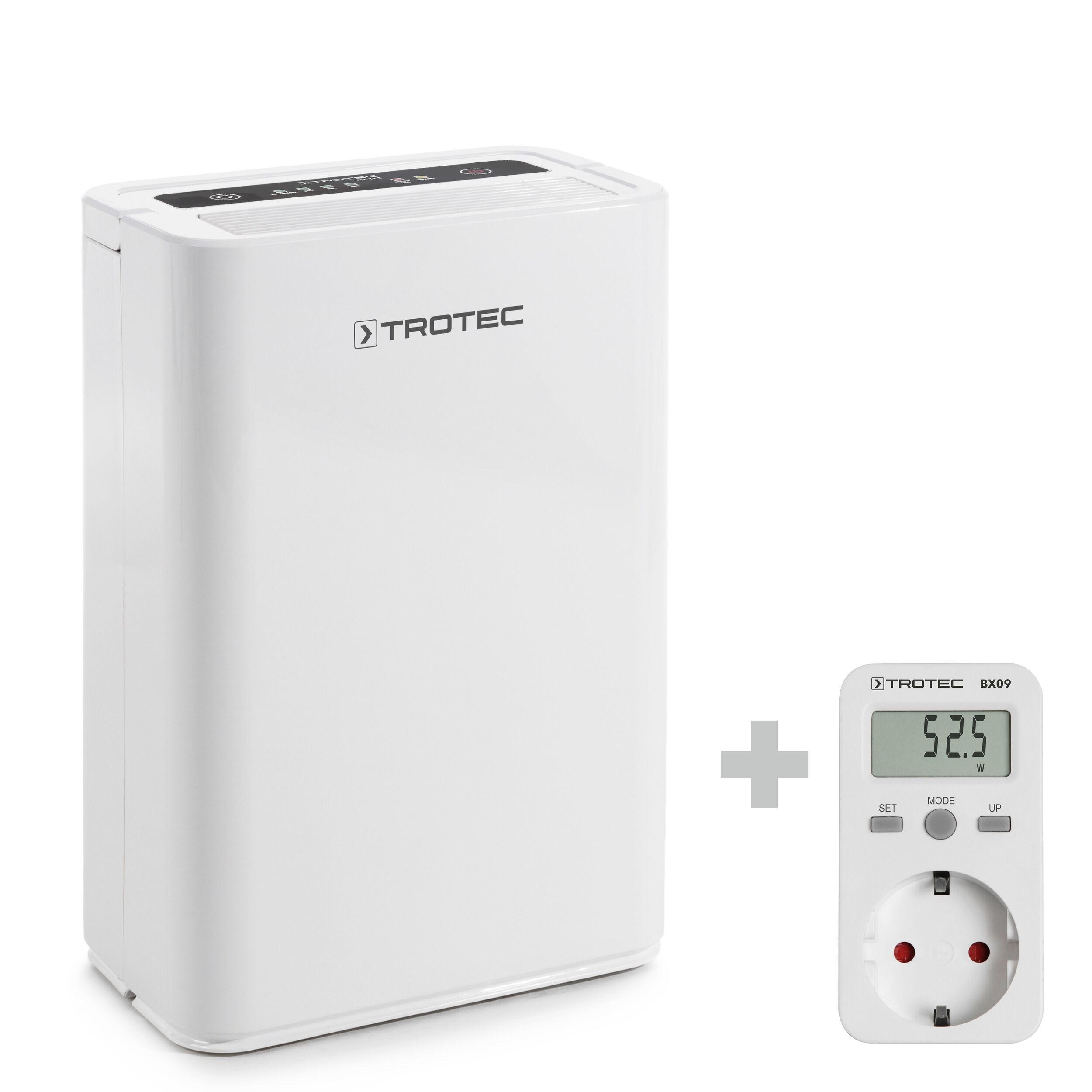 trotec deumidificatore ttk 52 e + misuratore di consumo elettrico bx09