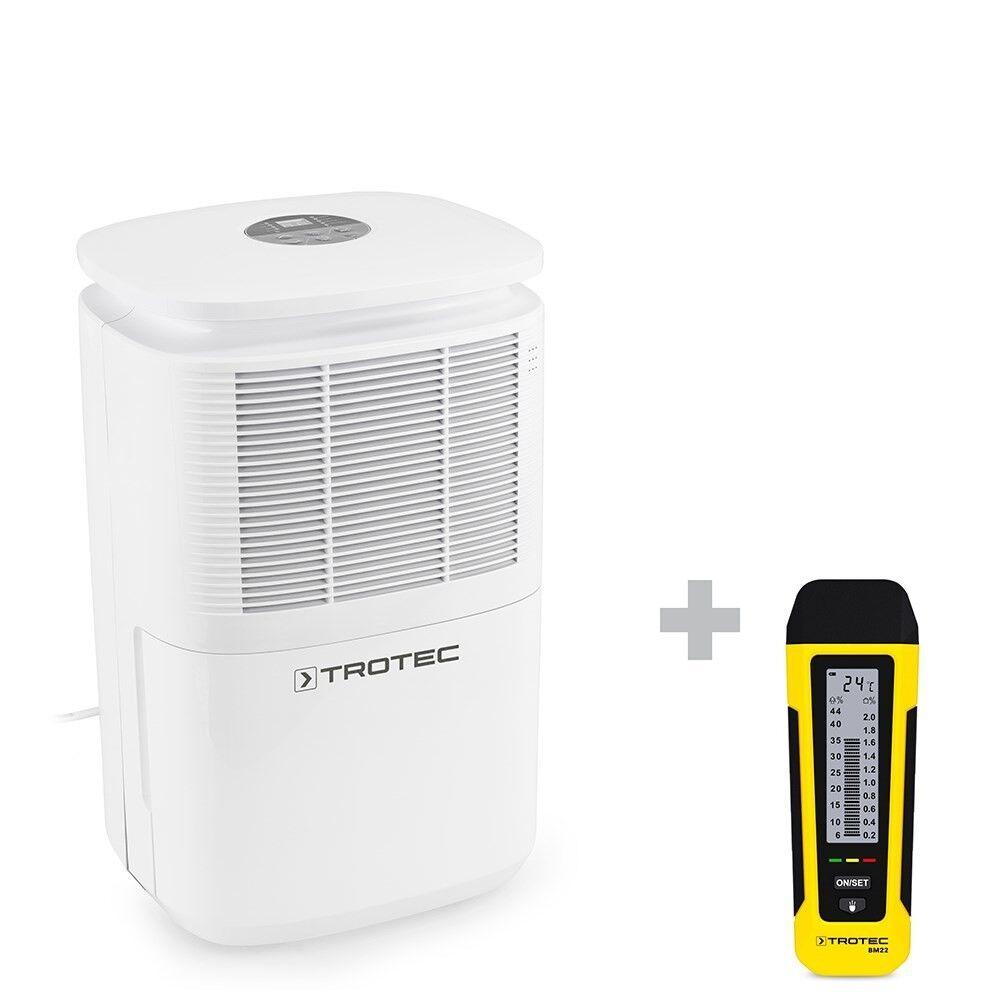 trotec deumidificatore ttk 30 e + misuratore di umidità bm22