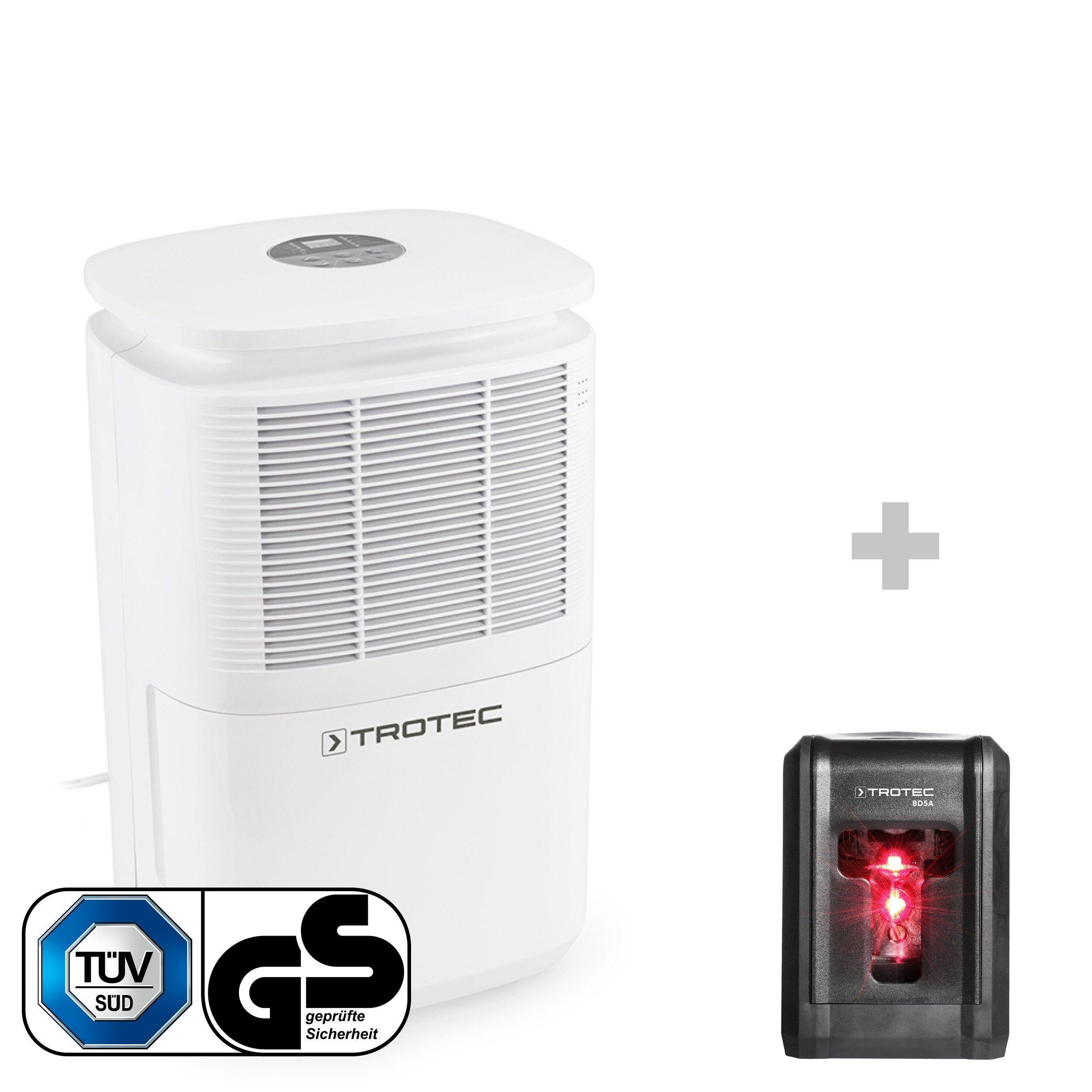 trotec deumidificatore ttk 30 e + livella laser bd5a