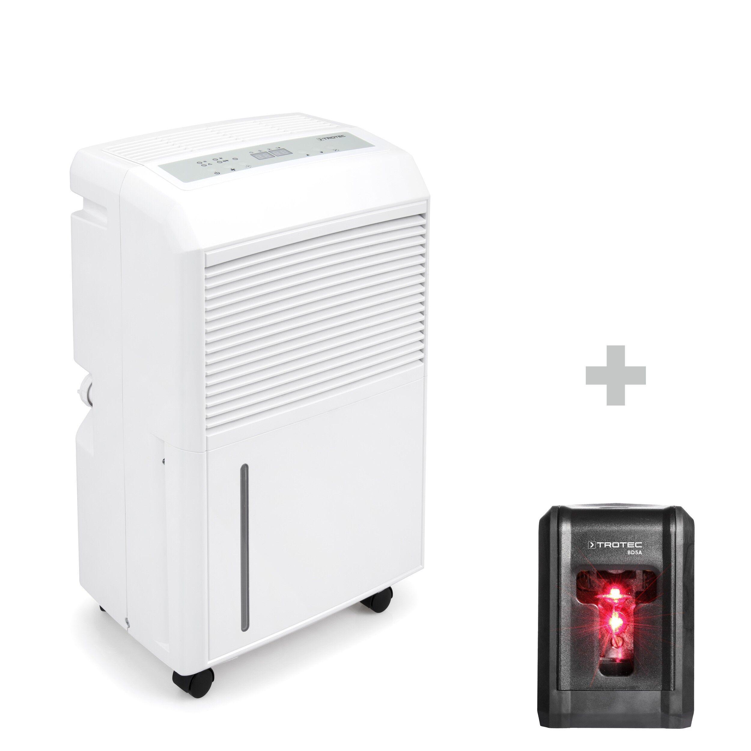 trotec deumidificatore ttk 90 e + livella laser bd5a