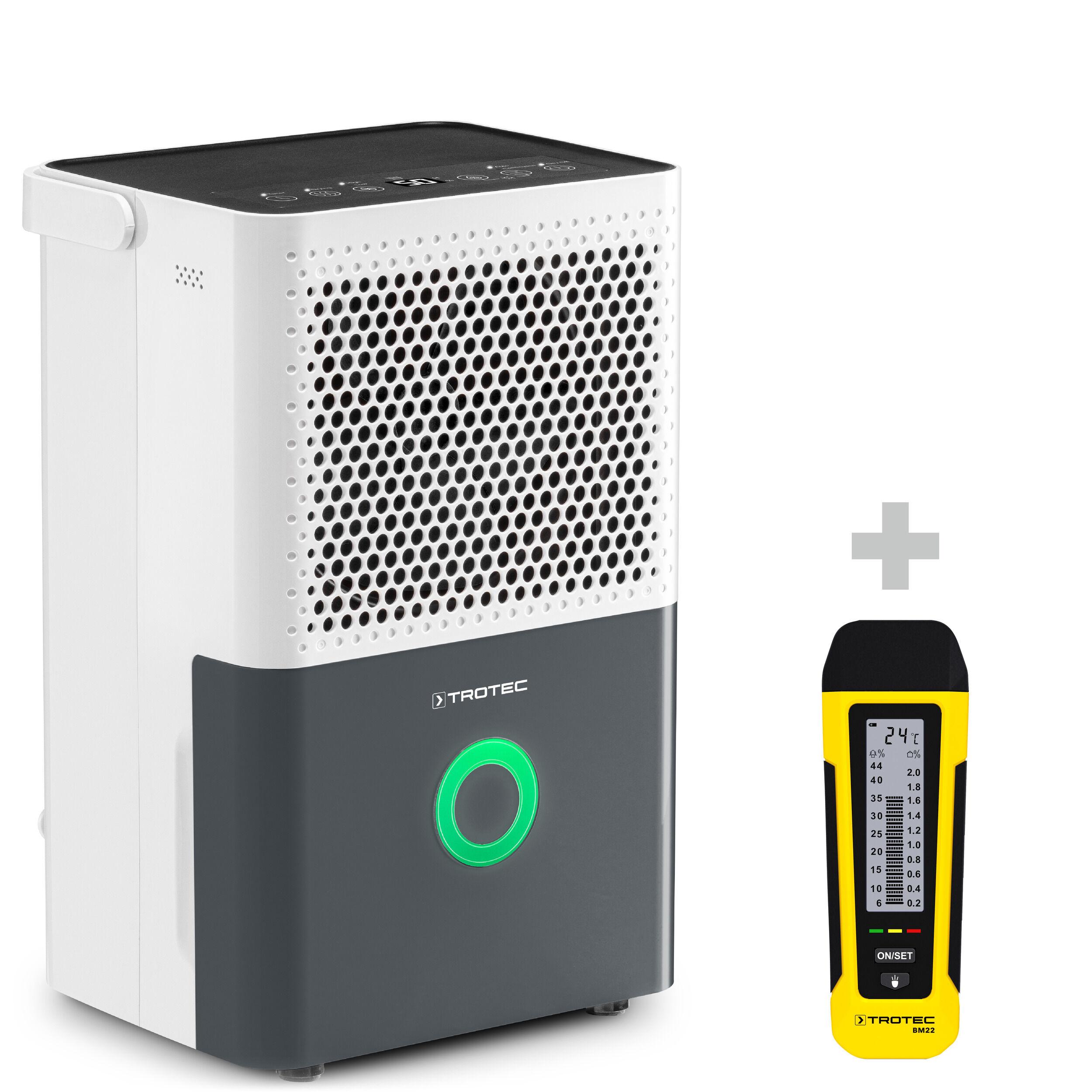 trotec deumidificatore comfort ttk 33 e + misuratore di umidità bm22