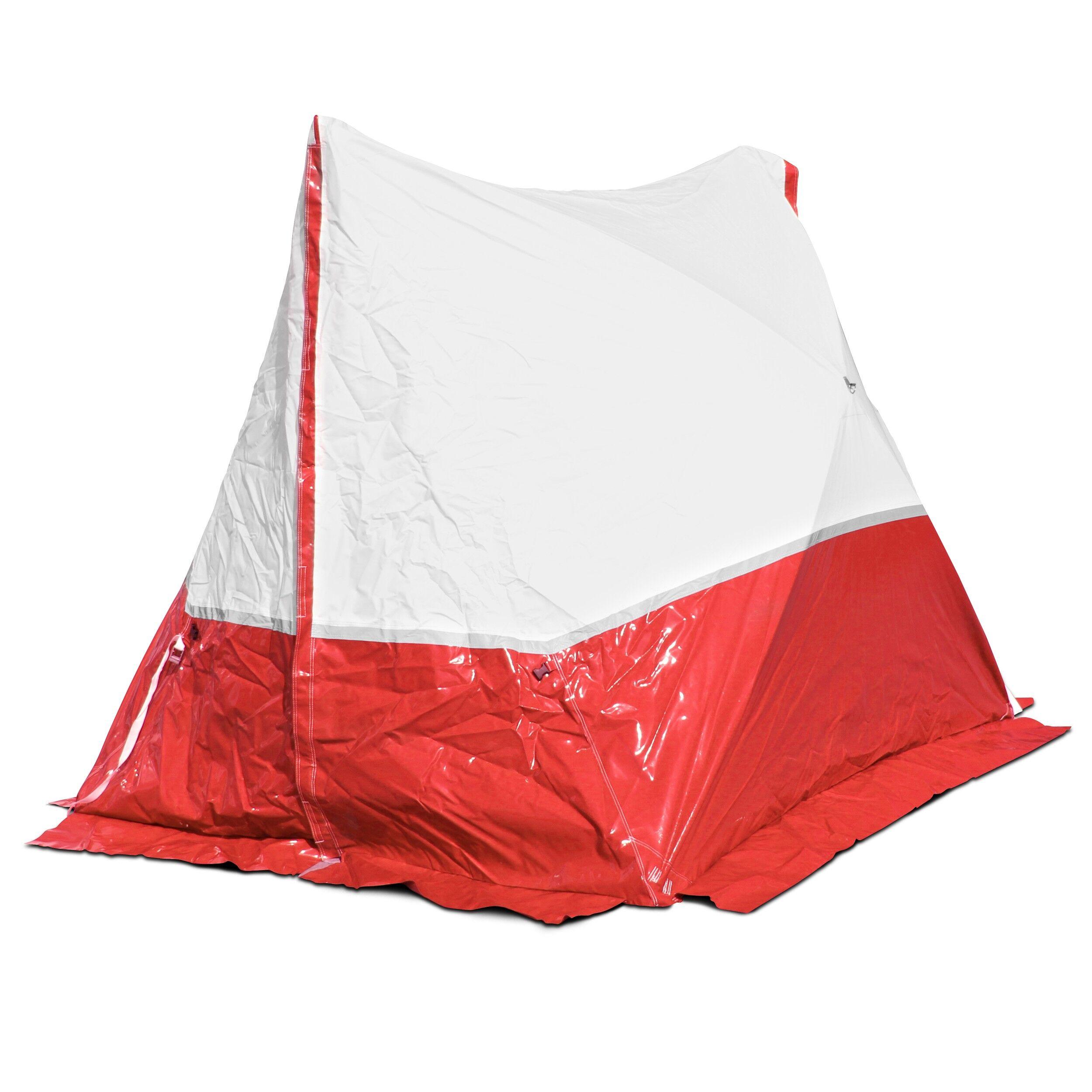 Trotec Tenda da lavoro 250 TE 250*200*190 a tetto spiovente in rosso