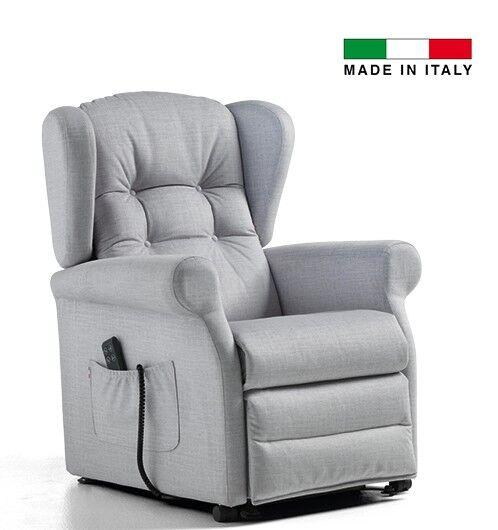 ksp italia poltrona relax elettrica con funzioni lift/relax e con alzapersona