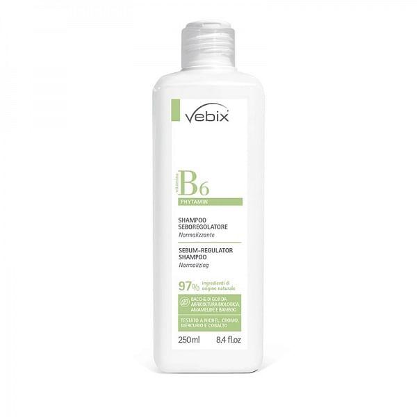 vebi istituto biochimico srl vebix phytamin shampoo seboregolatore normalizzante 250 ml