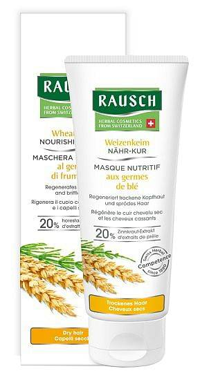 rausch maschera nutritiva al germe di frumento 100 ml