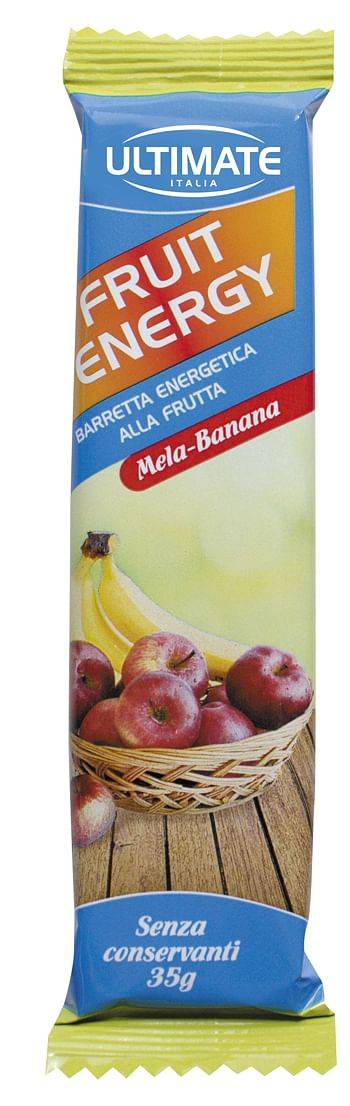 vita al top srl ultimate barretta fruit energy mela/banana 24 x 35 g