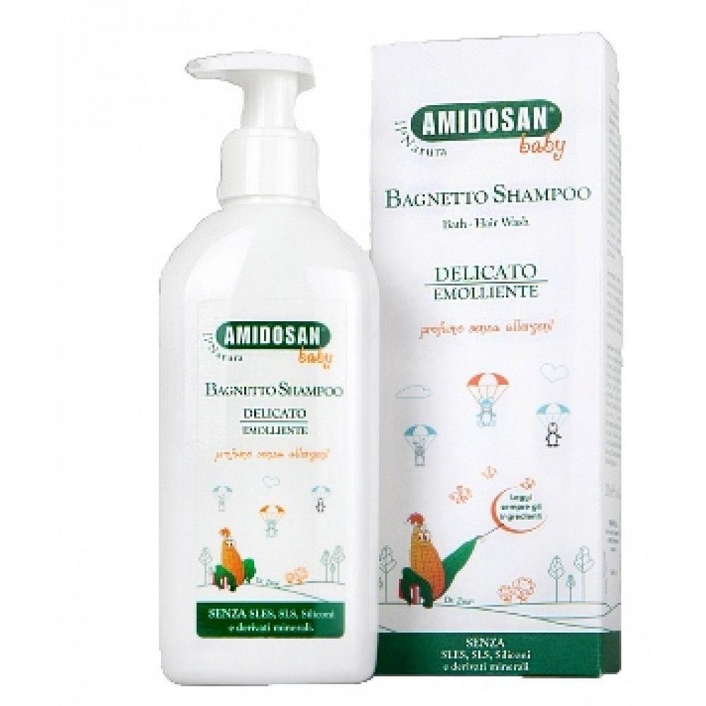 Farmacon Sas Di Billi & C. Amidosan Ii Natura Bagnetto/shampoo Baby 200 Ml