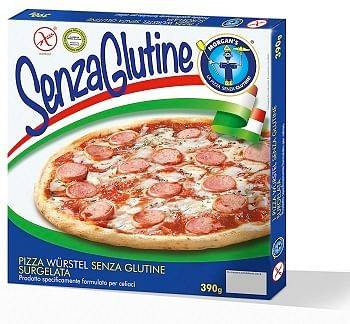 Morgan'S Srl Pizza Wurstel Surgelata 390 G