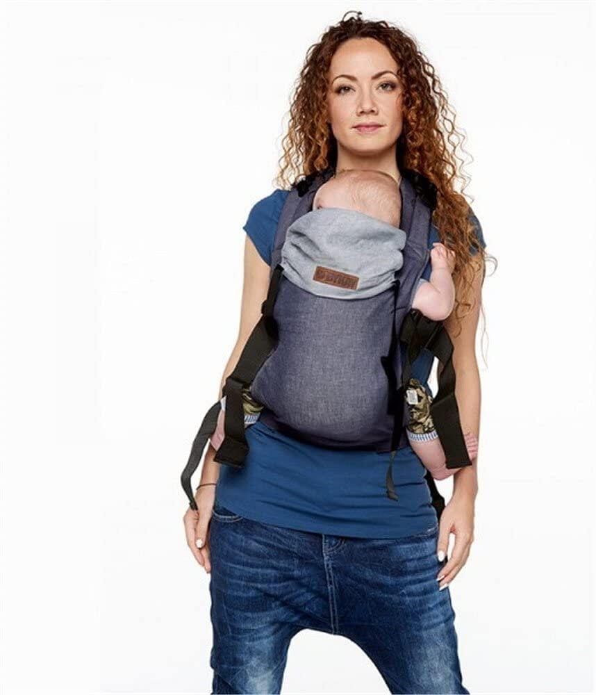 Medela Italia Srl Porta-Bebe' Con Struttura Soft Dark Jeans