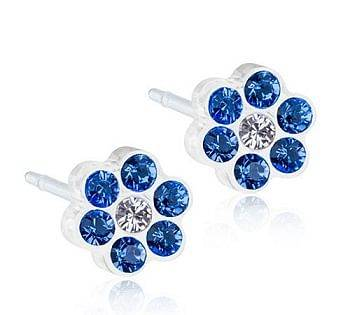 Blomdahl Gioiello Mp Daisy 5mm Sapphire Crystal