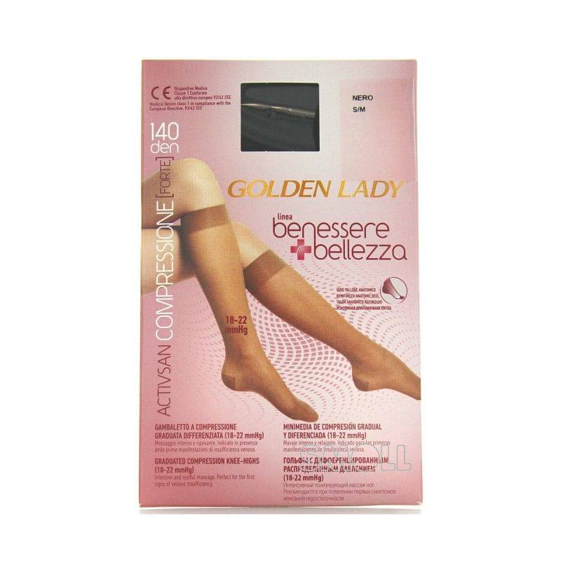 golden lady company golden lady gamb.benessere&bellezza 140 nero s/m