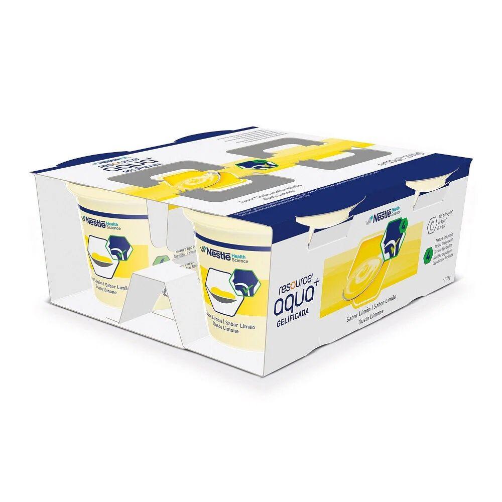resource acqua + zucchero limone 4 vasetti 125 g