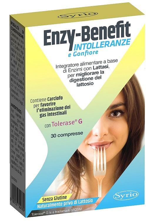 syrio enzy benefit intolleranze 30 compresse