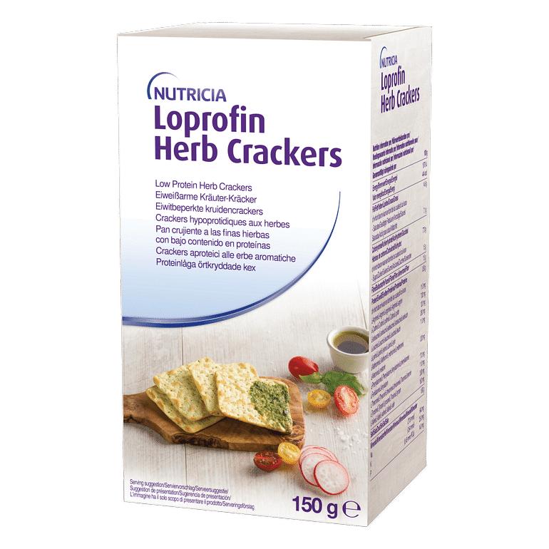 loprofin cracker erbe aromatiche 150 g
