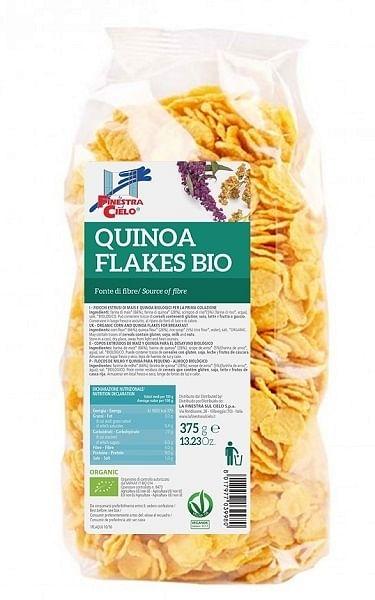La Finestra Sul Cielo Quinoa Flakes 375 G