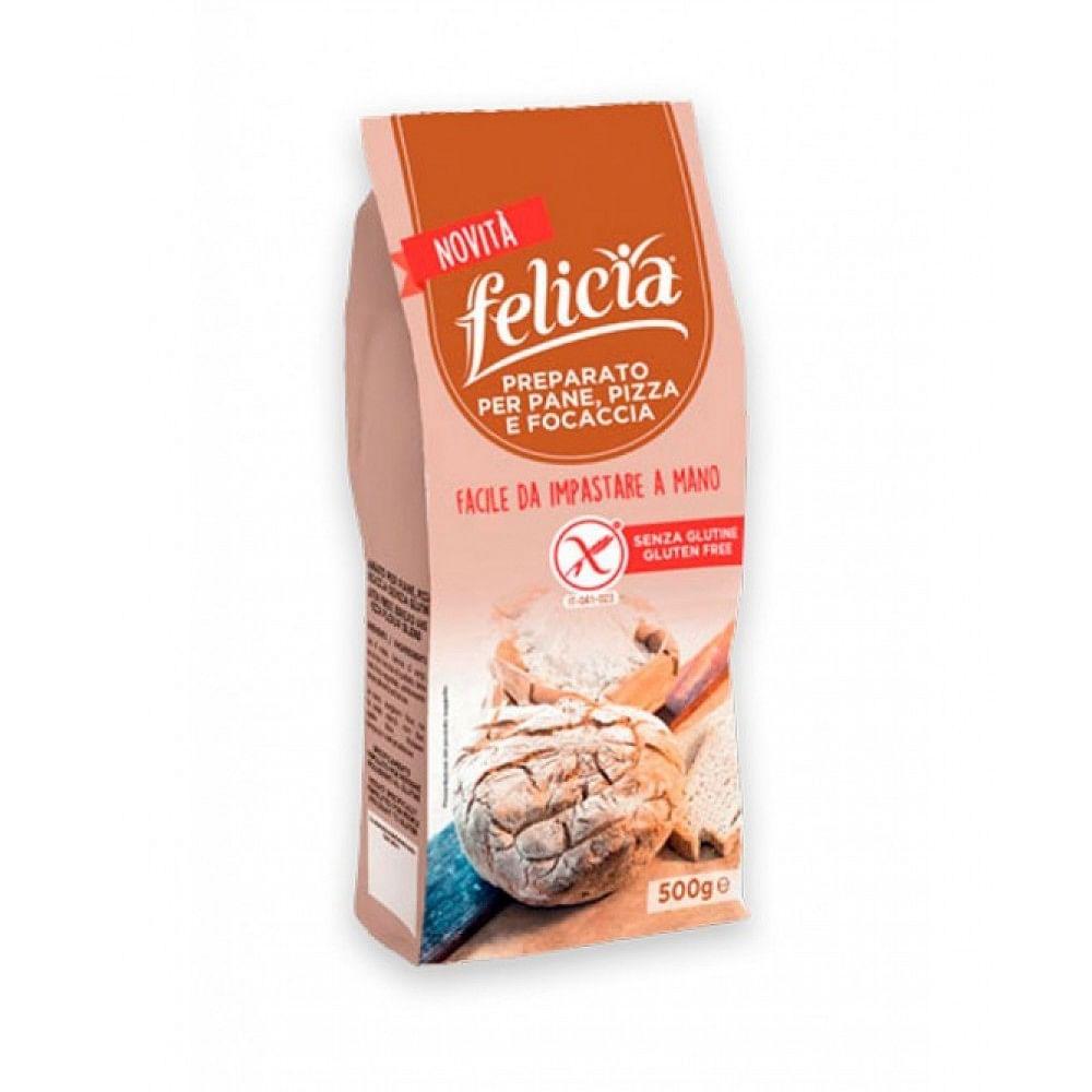 Felicia Bio Preparato Per Pane Pizze E Focacce 500g