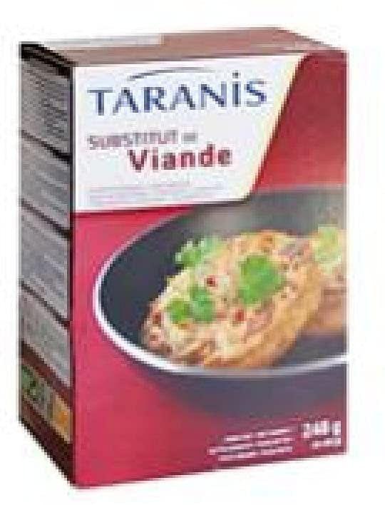 Taranis Burger Sostituto Carne 4 X 62 G