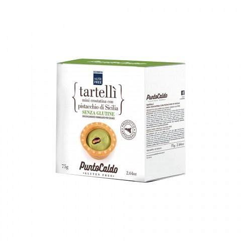 Punto Caldo Tartelli' Mini Crostatina Con Pistacchio Di Sicilia 75 G