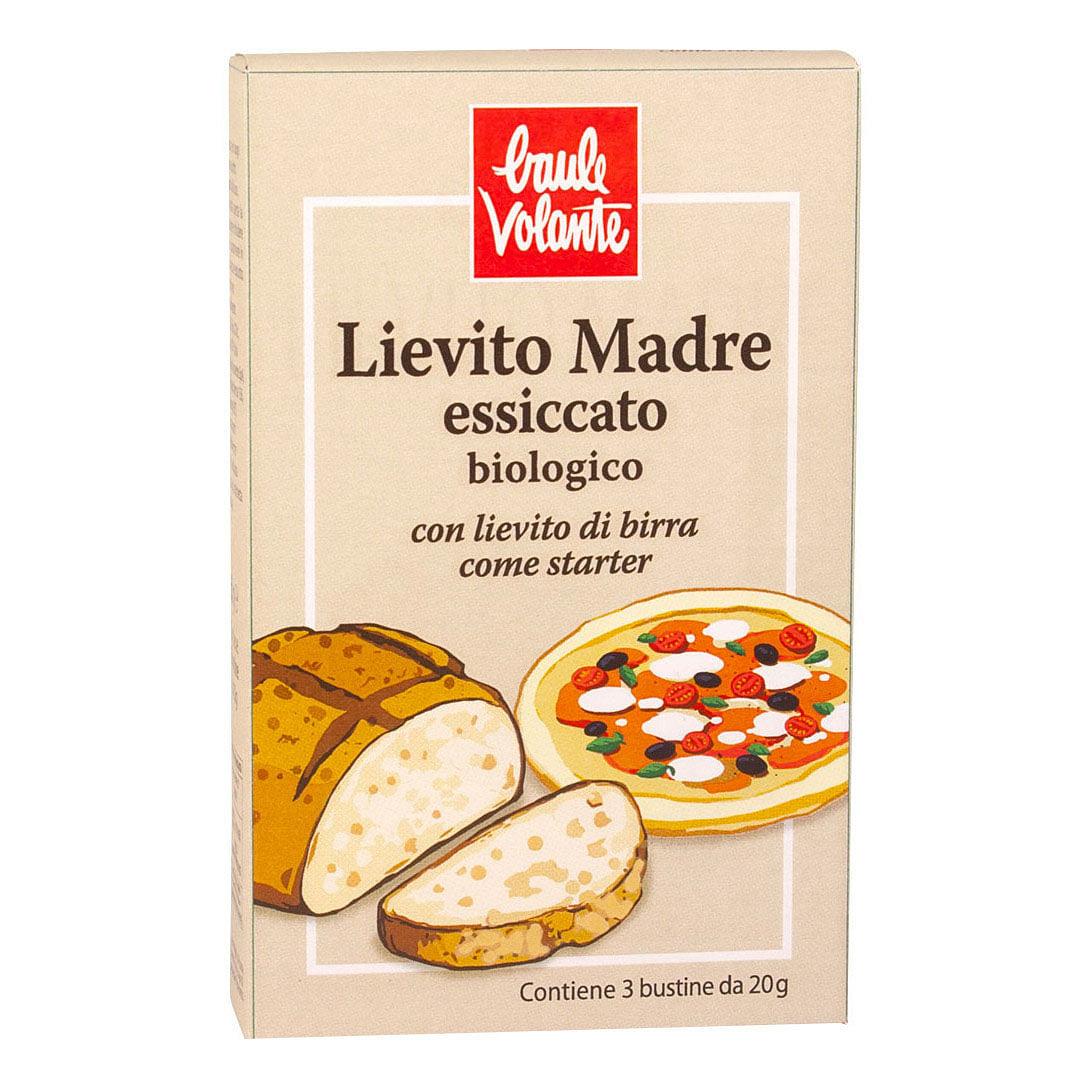 Baule Volante & Fior Di Loto Lievito Madre Essiccato Con Lievito Di Birra 3 X 20 G