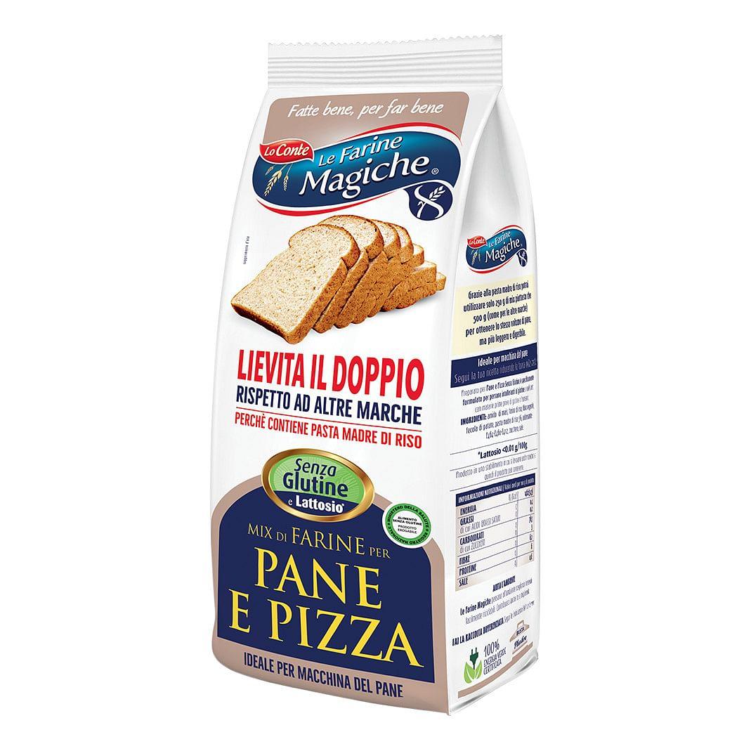 Ipafood Mix Per Pane E Pizza Senza Glutine 500 G