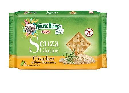 Barilla Mulino Bianco Cracker Al Riso E Rosmarino 200 G