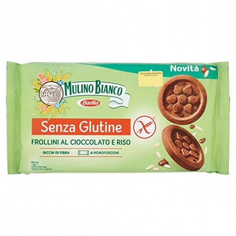 Barilla Mulino Bianco Senza Glutine Frollini Al Cioccolato E Riso 6monoporzioni Da 41,66