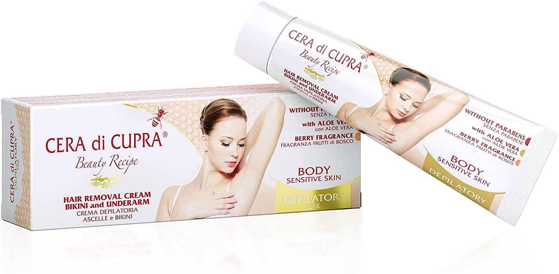 cera di cupra crema depilatoria ascelle bikini 100 ml