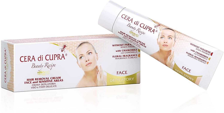 cera di cupra crema depilatoria viso parti delicate 50 ml