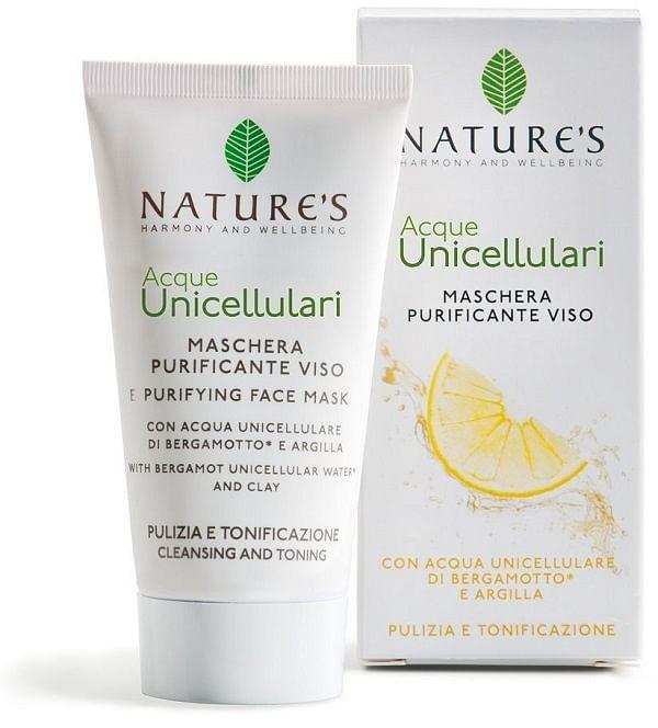 bios line acque unicellulari maschera purificante viso 50 ml