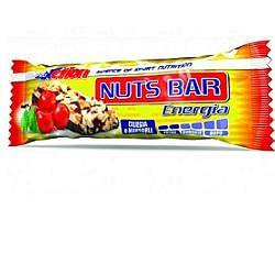 proaction choco nuts bar barretta energetica alla ciliegia e mandorle 35 g