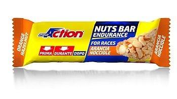 proaction nuts bar barretta energetica all'arancia e nocciole 30 g